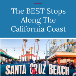 Road Trips In California can be a great adventure for both parents and kids. Check out a few of the best stops along the California coast that we visited while on our Jucy Van adventure.