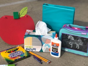 It's back to school time and by now I'm sure you've already gotten the back to school shopping list. Is it just me or do these lists keep getting longer and longer? When I was a kid my Back To School Shopping List consisted of paper and pencils and this one item everyone seems to forget. Is it on your list?