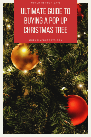 Ultimate Guide to Buying a Pop Up Christmas Tree