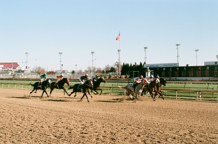The races at Churchill Downs