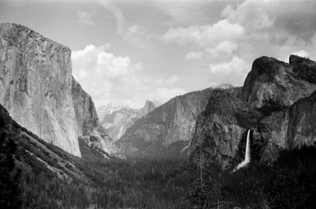 Tunnel View - El Capitan, Half Dome and Bridalveil Falls