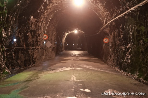 Tunnel to underground Manapouri Power Station