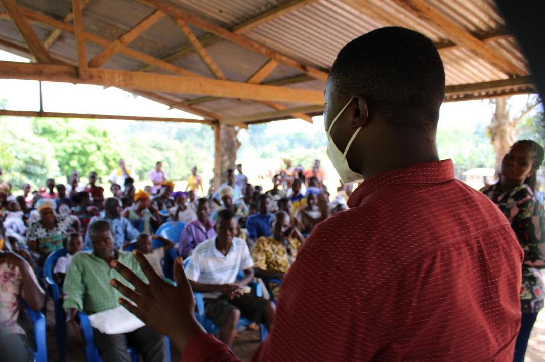 Francis Osei Assibey Empowering the people of Besebuom, Ghana