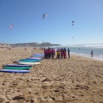 GUINCHO BEACH WITH KIDS:  SURF, FOOD & SUNSET