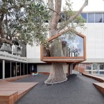 JERUSALEM & ARCHITECTURE: THE TREEHOUSE AT THE RUTH YOUTH WING FOR ART EDUCATION