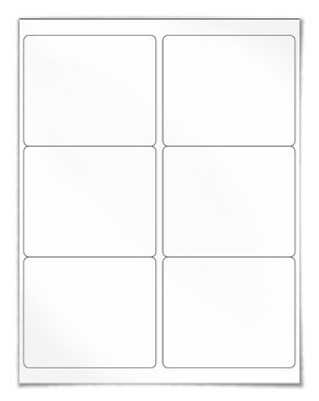 4 X 3 33 Word Label Template For Wl 150