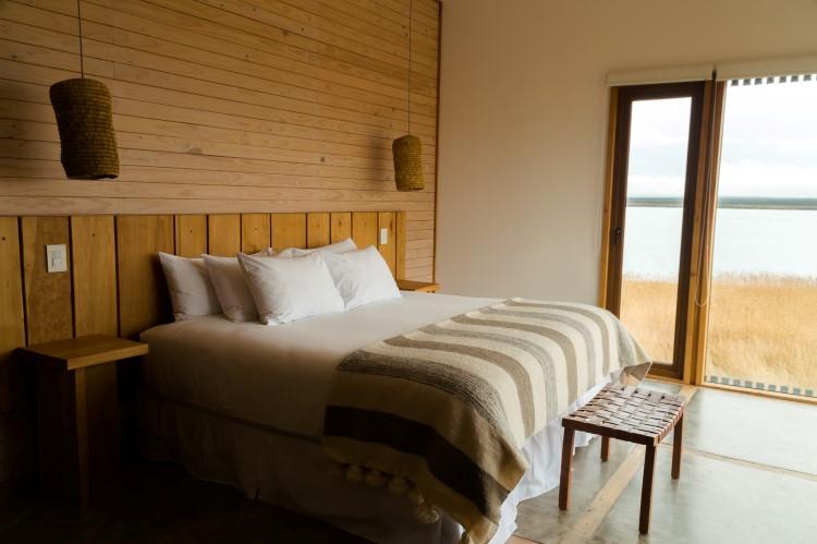 Inside the Simple Hotel in Puerto Natales
