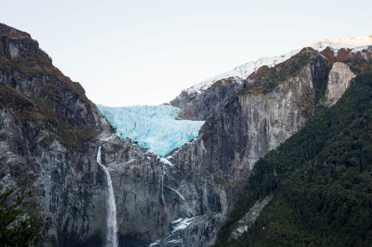 Travel routes through Patagonia