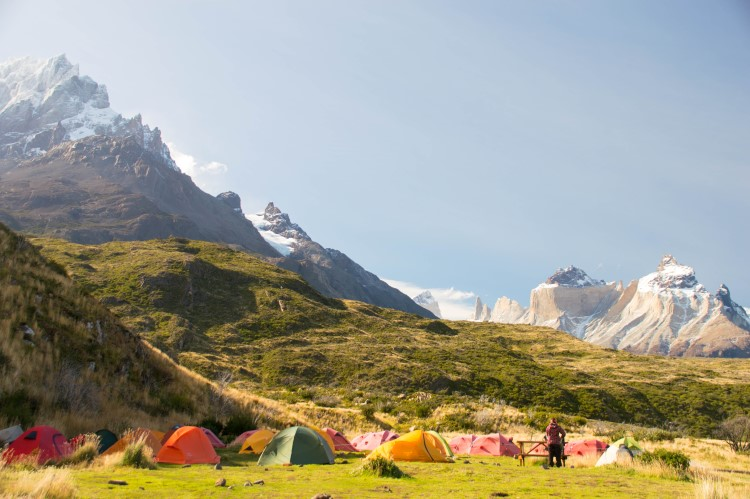 Torres del Paine W hike
