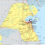 Geopolitical Map Of Kuwait Kuwait Maps Worldmaps Info