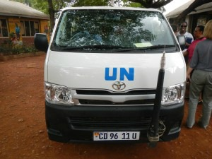 UN Van