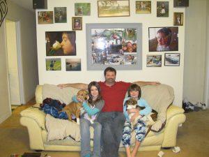 Scott ThreeFiveZero Rigdon and Family