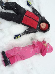 What is this white stuff?  Discovering snow in the U.S.