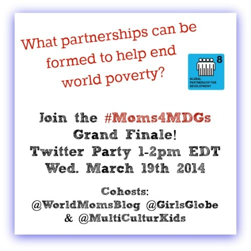 World Moms Blog Launches 8 Month MDG Campaign!