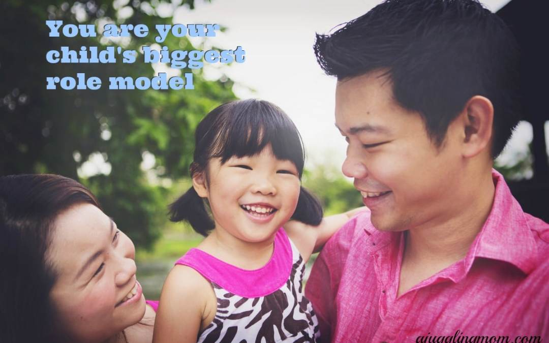 SINGAPORE : Being your child's greatest role model