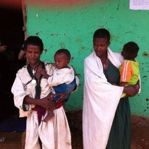 It would have been so easy to judge these young mothers in Ethiopia but they were doing a phenomenal job of mothering