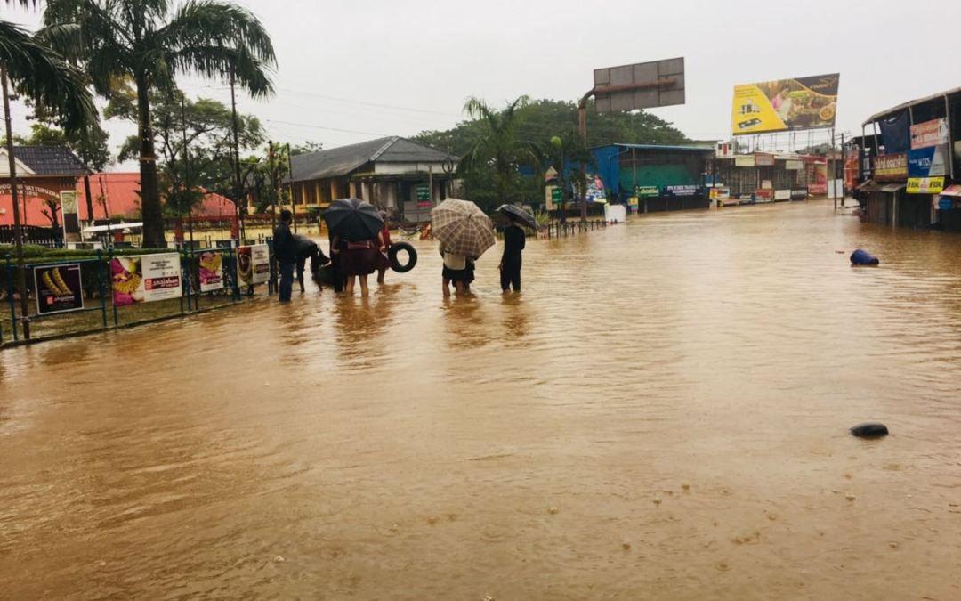 INDIA: State of Kerala Ravaged by Floods, Still Gasps for Survival