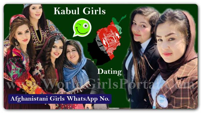 Kabul Girls WhatsApp Numbers for Friendship, Dating, Chatting, Girls WP Group Afghanistan