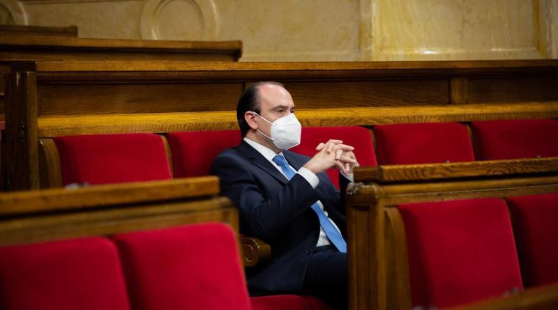 Daniel Serrano, secretario general del PP catalán investigado por una presunta agresión sexual