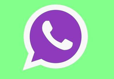 Cambia el ícono de WhatsApp a color violeta