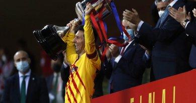 Emotivas palabras de Lionel Messi tras ganar la copa del Rey