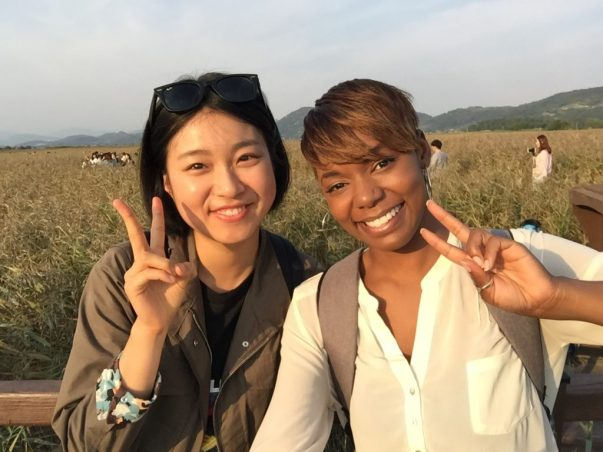 Suncheon Bay with my co-teacher