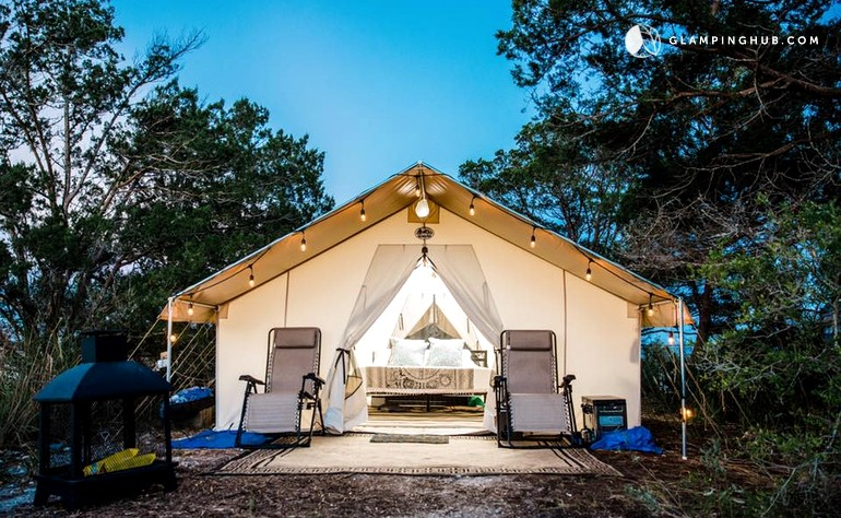 7 Unique & Glamorous Glamping Destinations in the South, U.S.A.
