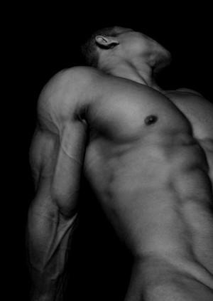 sexy nude man torso sexig naken
