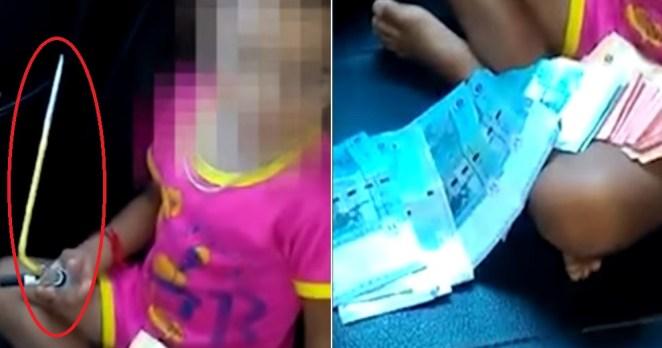 Disturbing Videos of Kedah Toddler Forced to Smoke Meth Go Viral - World Of Buzz 4