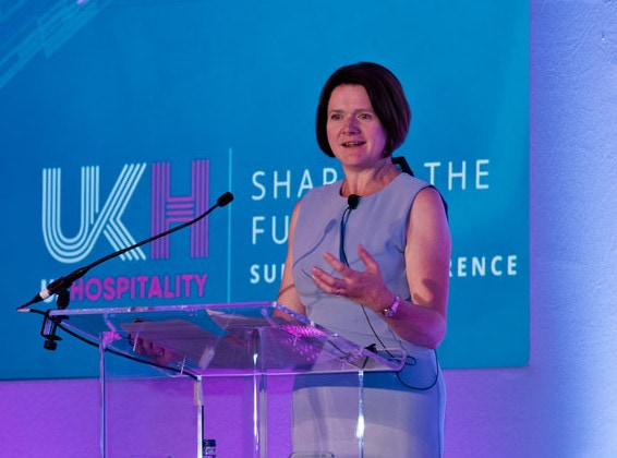 Kate Nicholls, the voice of the hospitality industry |