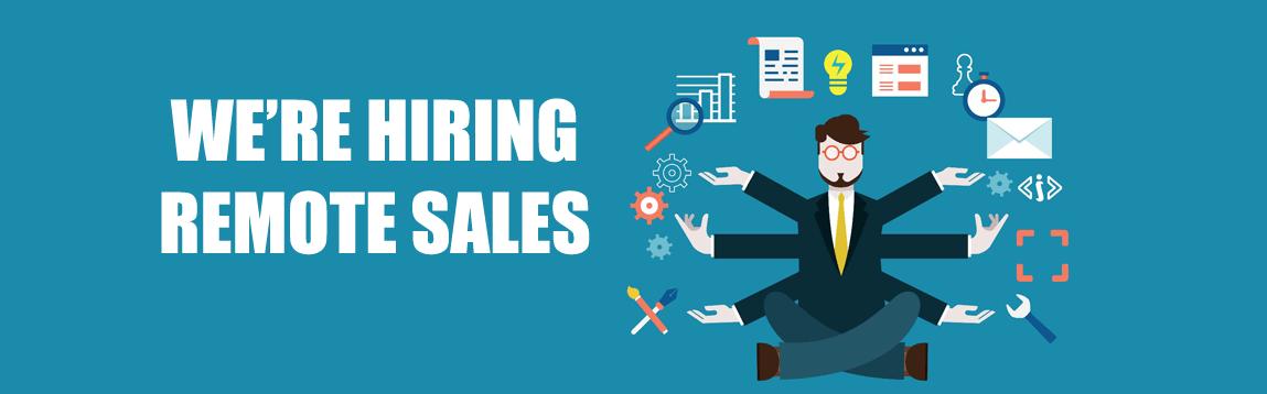 Remote Sales Position   #WOCJOB