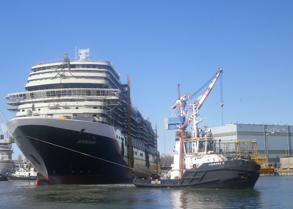 Koningsdam Float Out