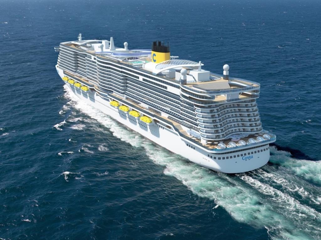 New Costa LNG Ship