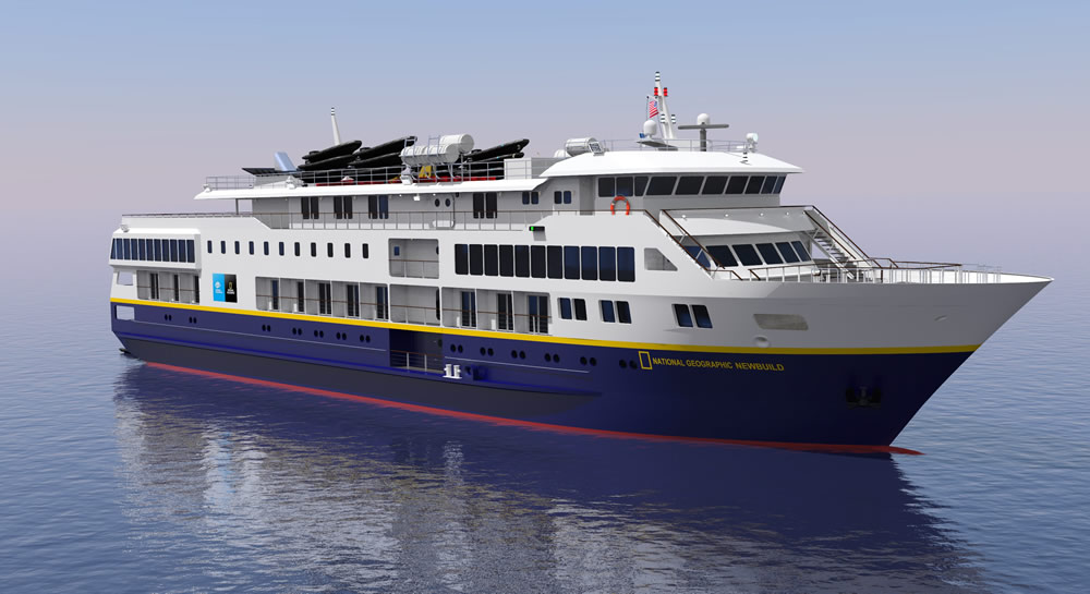 Lindblad Expeditions Signs New Build Contracts