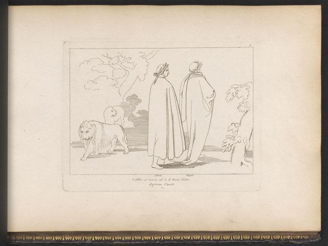 Flaxman, Dante and Virgil