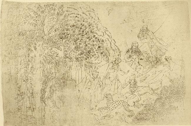Botticelli, Three Beasts