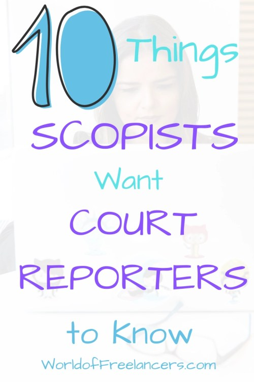 10 Things Scopists Want Court Reporters to Know Pinterest image