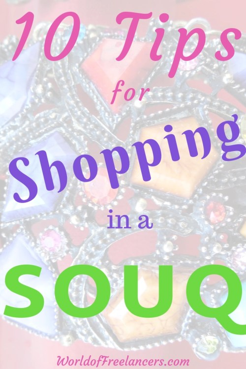 10 Tips for Shopping in a Souq