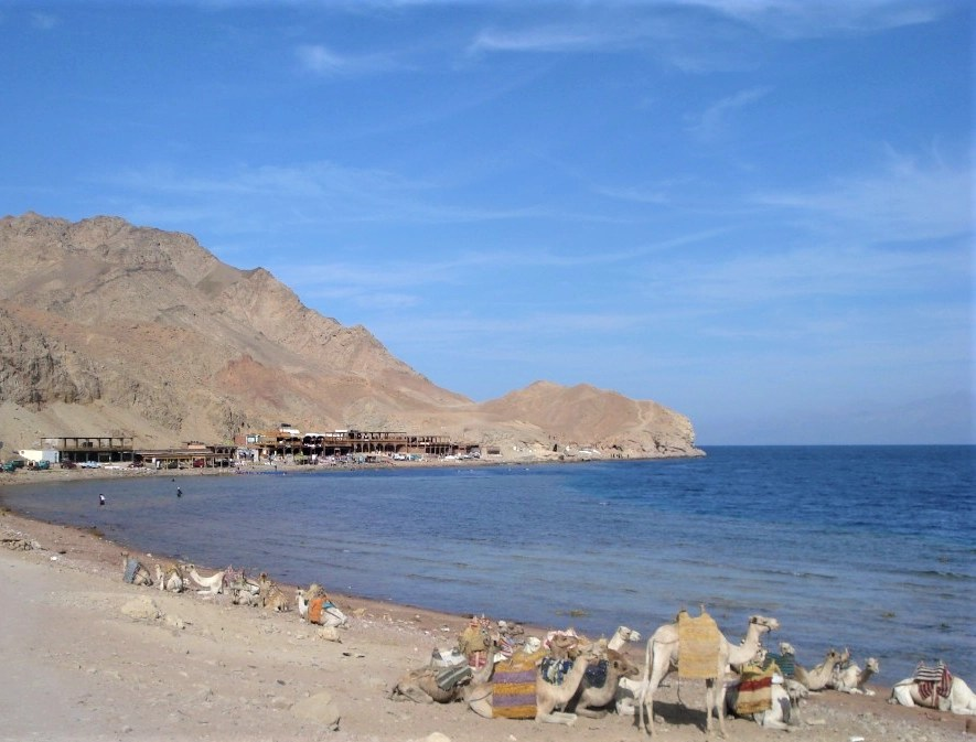 The Blue Hole in South Sinai