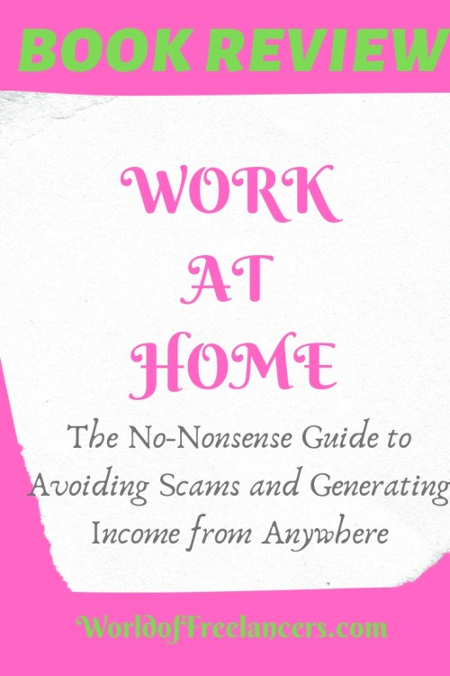 Book review of Work at Home Pinterest image