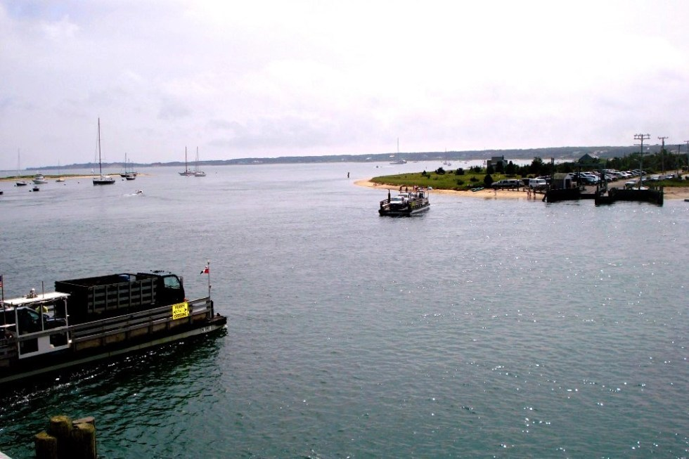Chappy Ferries traveling to and from Edgartown, Martha's Vineyard to Chappaquiddick Island