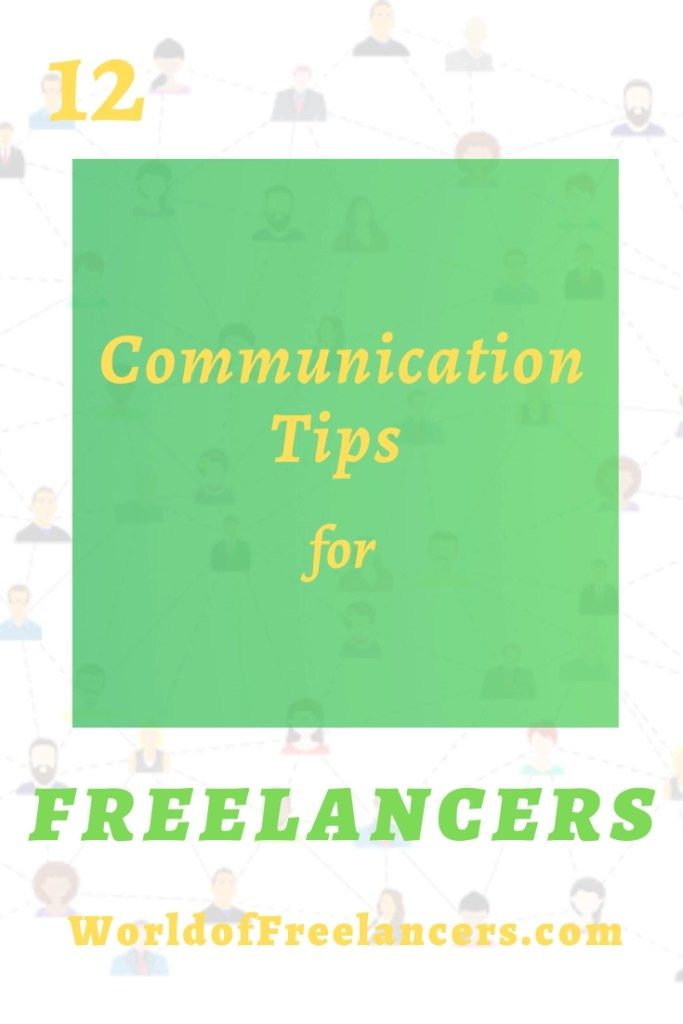 12 communication tips for freelancers