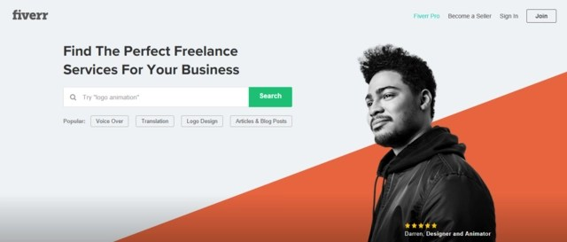 Fiverr is one of the best job websites to find Australia and New Zealand jobs