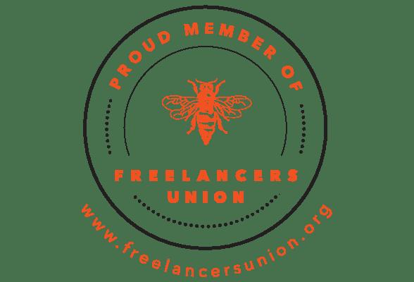 Freelancers Union badge