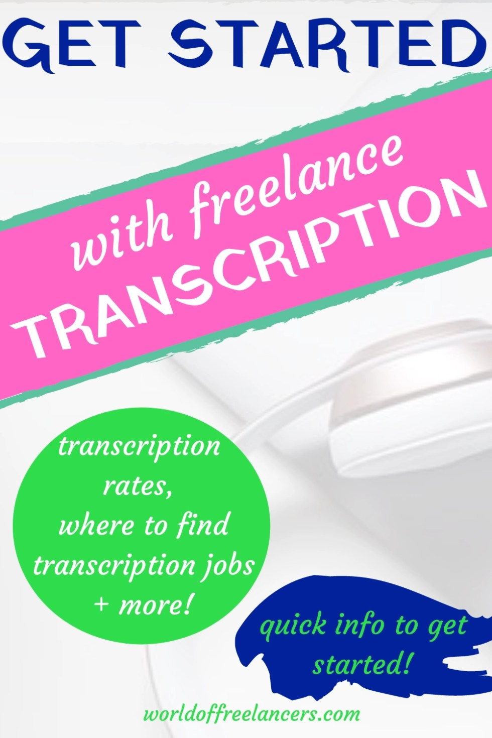 Get started with freelance transcription