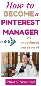 How to become a Pinterest manager - no experience necessary