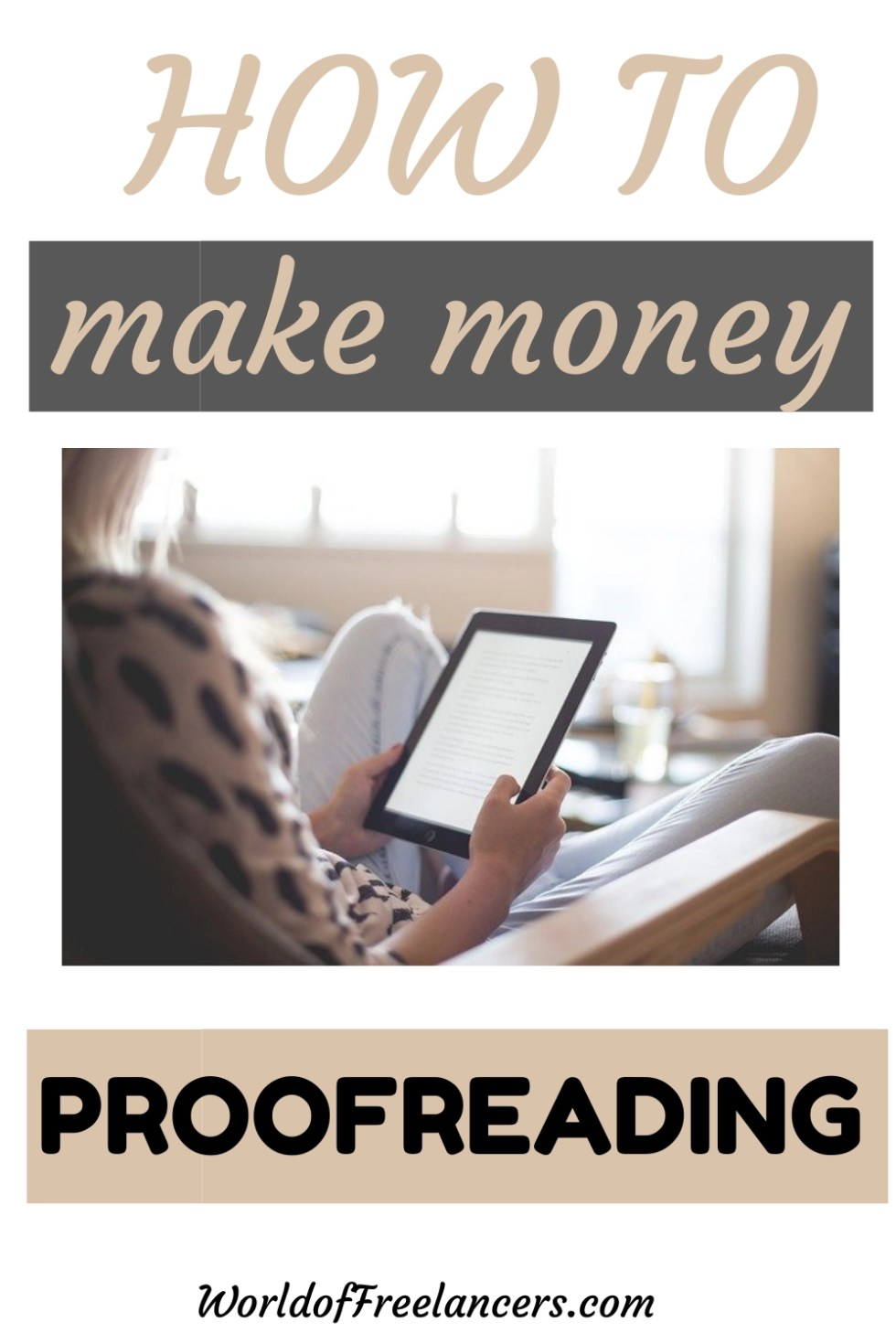 How to make money proofreading