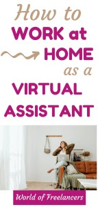 How to work at home as a virtual assistant