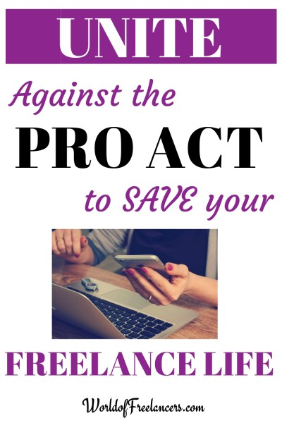 Unite against the PRO Act to save your freelance life