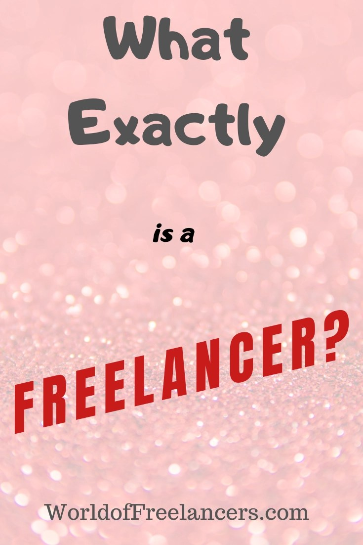 What Does Freelance Mean Pinterest image